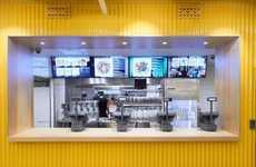 Minimalist Market Eateries