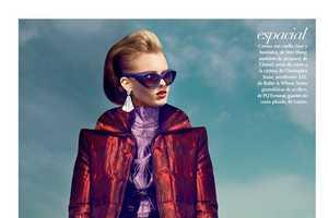The Kevin Sinclair El Futuro Editorial Features Futuristic Ensembles