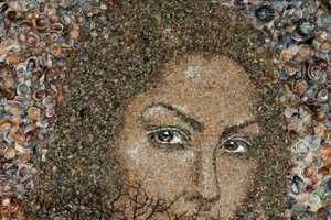 Svetlana Ivanchenko's Series of Sand Shell Mosaic Art is Captivating