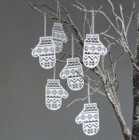 Mitten Christmas Tree Decorations