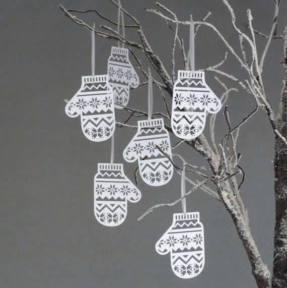 DIY Accessory Snowflake Ornaments