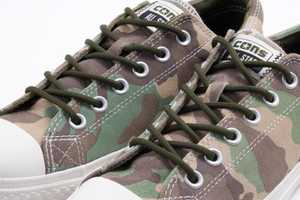 Converse Releases Chuck Taylor's in Woodland Camo Prints