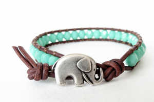 The Adorbale Elephant Bracelet Brings You Good Luck on Your Travels
