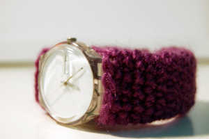 These Crochet Watch Cozies Keep Your Watch Wrapped Up