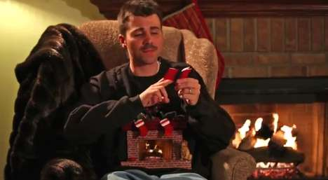 fireplace sweater