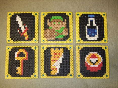 DIY Legend of Zelda Coasters