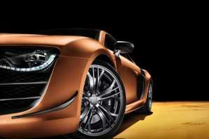 The Audi R8 China Super Limited-Edition Car is Golden