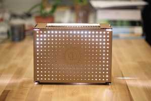Basheer Tome's Hue Smart Toaster Ensures Perfectly Browned Bread Every Time