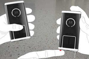 The Gluco Diabetes Management Features a Faux Smartphone Design