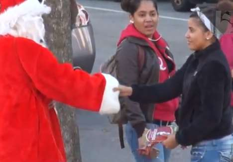 bad santa prank