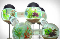 From Worldly Fish Tank Tables to Modern Walliquariums