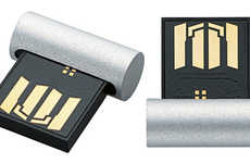 Mocking Mac Flashdrives - The Ultra-Compact USB Memory Reflects Popular Tech Design