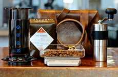 Portable Java Kits - Enjoy Delectable Coffee on the Go With the Handsome Coffee Roasters Coffee Kit
