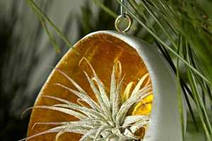 For Luxurious Christmas Ornaments Try Gold Leaf Cup Ornaments