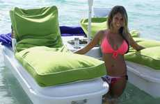 Luxuriously Relaxing Rafts