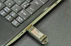 Temperature-Monitoring Memory Sticks