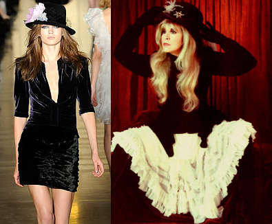 stevie nicks-inspired looks