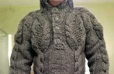 Adult Knit Onesies - The Full Body Sweater Won't Let Any Cold Air Get at You