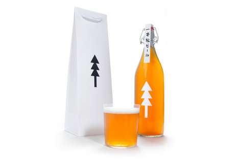 One Pine Tree Beer Packaging