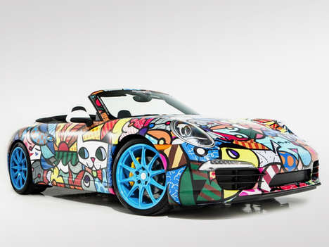 Romero Britto Porsche 911