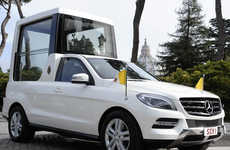 Refreshed Religious Leader Rides - The New Mercedes-Benz Popemobile is Officially Revealed