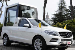 The New Mercedes-Benz Popemobile is Officially Revealed