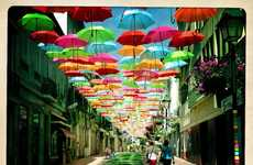 20 Examples of Umbrella Art