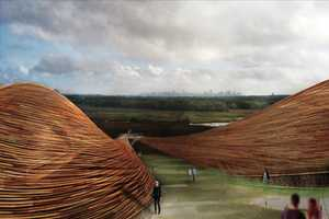 Fresh Hills Integrates a Wind Farm with a Park on a Covered Landfill