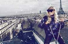 Parisian Skier Portraits