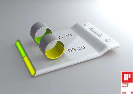 Silent Couples Alarm Clock