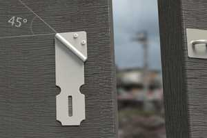 The 45-Degree Door Catch Reduces Injury and Gradual Wearing