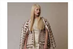 The Platinum Love Blonde Ambition Series Fashion Story is Edgy