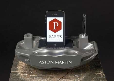 Aston Martin Brake Caliper