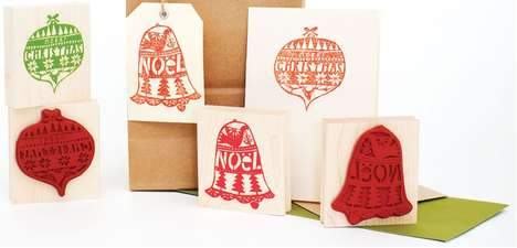 DIY Christmas Card Decor