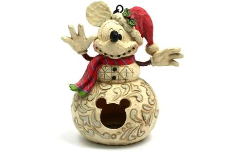 Holiday Mickey Mouse Birdhouse