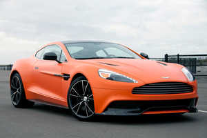 The 2014 Aston Martin Vanquish is Alarmingly Fast
