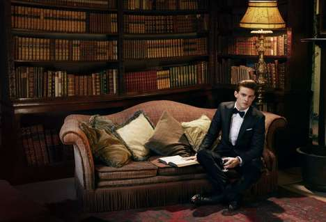 Polished Gentleman Portraits - The Cameron McNee Sphere Magazine Editorial is Dapper and Debonair