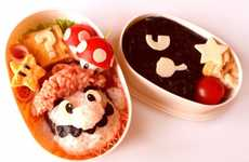 Video Game Lunch Lessons - The Mario Bento Tutorial Shows You How to Prepare an Attractive Meal
