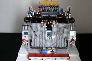 The LEGO M&Ms Machine Uses Color Sensors to Distribute the Chocolates