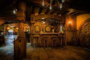 The Hobbit Pub's Welcoming Ambiance is Reflective of the Hardy Shir