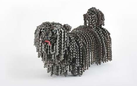 Bicycle Chain Dogs