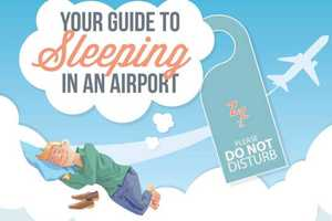 Flyers Should Be Prepared for Sleeping in Airports in Case of Delays