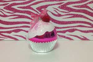 Glitter Cupcake Ornaments Help Curb Your Sweet Tooth