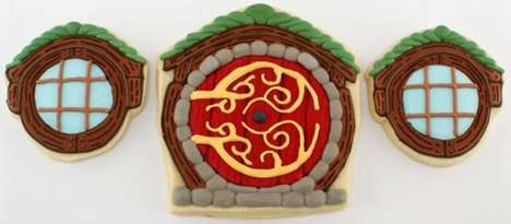 hobbit door cookies