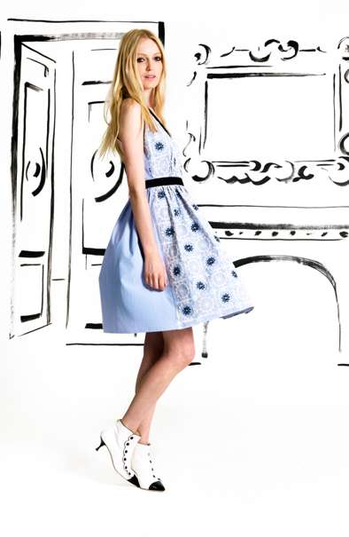 moschino cheap and chic resort 2013