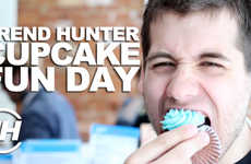 Cupcake Decorating Challenges - Trend Hunter & Le Dolci Come up with Cupcake Decorating Ideas