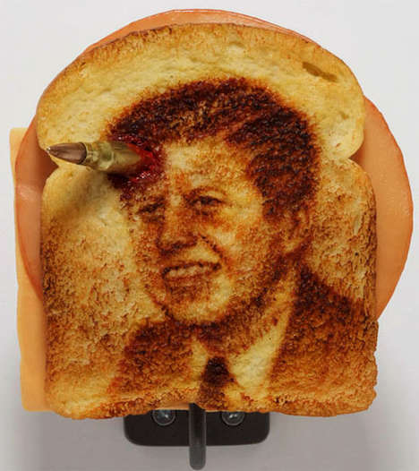 examples of toast art