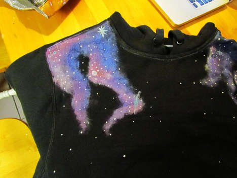 DIY Galaxy Sweatshirts