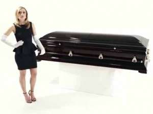unique coffin