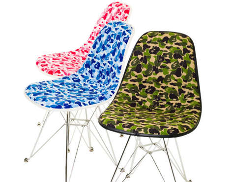 BAPE Camo Chairs
